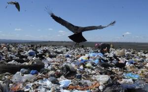 Aterro sanitário: matéria orgânica perdida poderia gerar energia elétrica de biogás e reduzir contaminação do solo (Edilson Rodrigues/Agência Senado