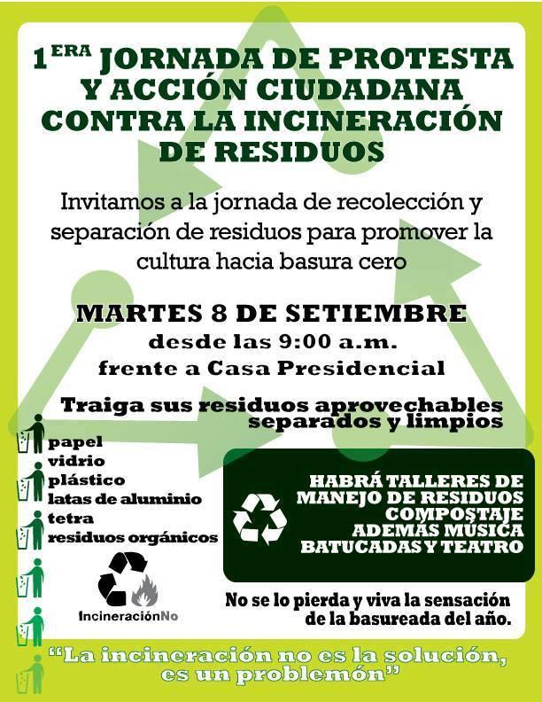 Costa Rica contra a incineração