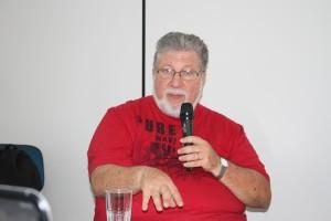 Célio Nori, coordenador do Fórum da Cidadania de Santos.