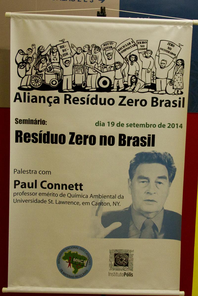 Seminário Resíduo Zero no Brasil, 19 de setembro de 2014