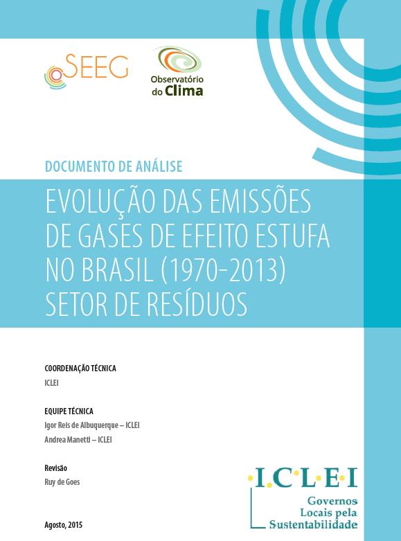 evolução das emissões de gases de efeito estufa no brasil