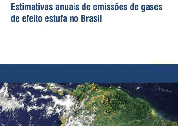 Estimativas anuais de emissões de gases Br