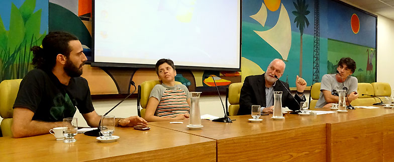 Especialistas discutiram a questão dos resíduos em reunião da Frente Parlamentar pela Sustentabilidade Foto: Luiz França / CMSP