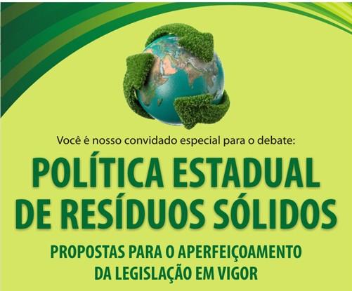 Política Estadual de Resíduos Sólidos - propostas para o aperfeiçoamento da legislação em vigor